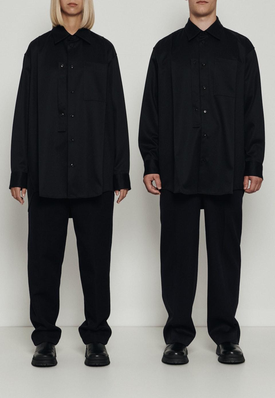 Murkudis Classic Shirt in Schwarz    Seidensticker Onlineshop