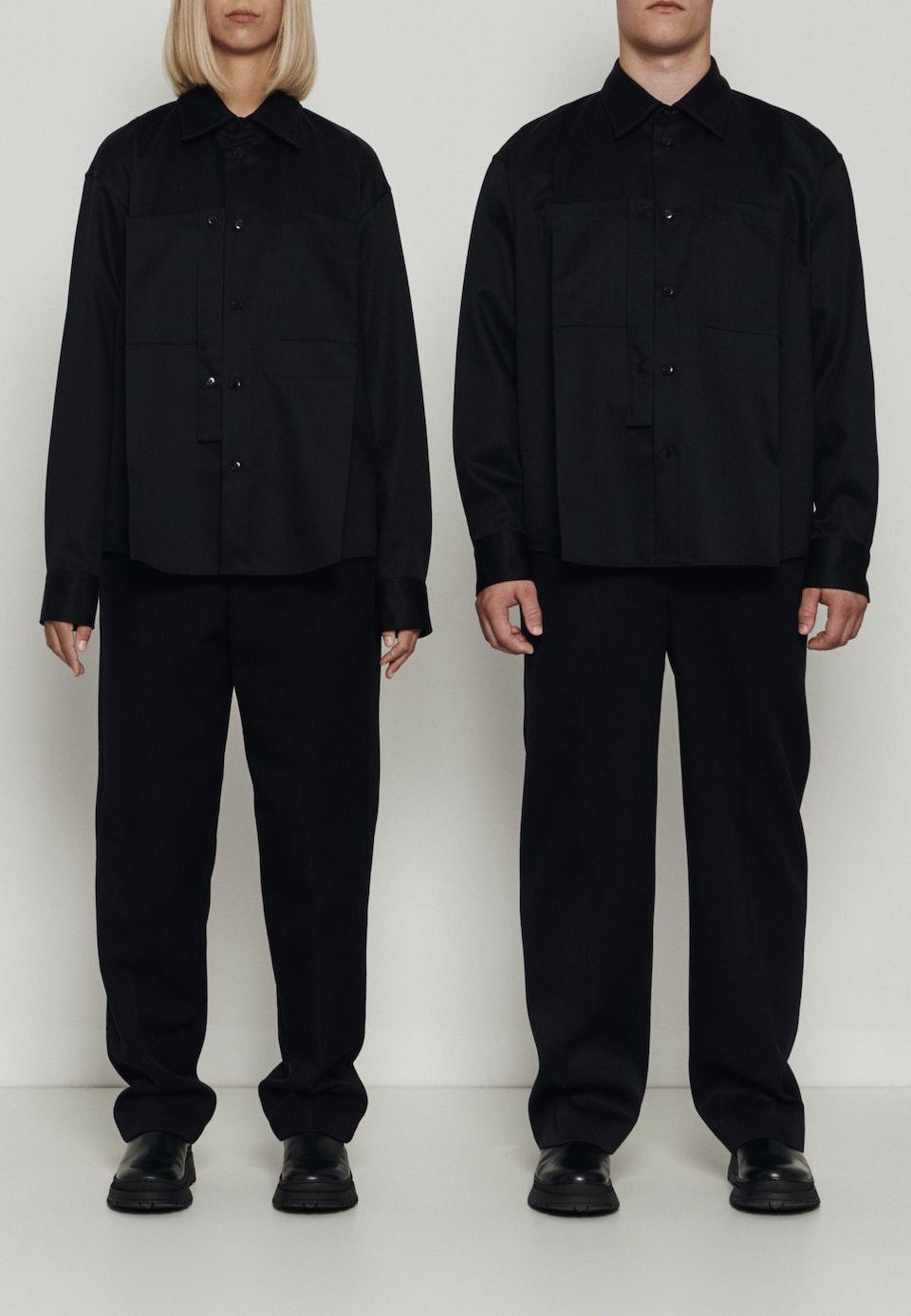 Murkudis Military Jacket in Schwarz |  Seidensticker Onlineshop