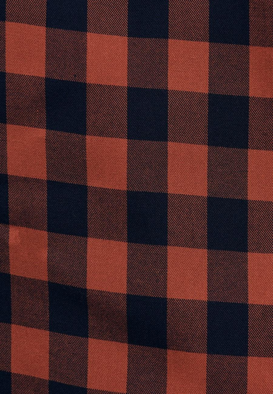 Twill Maxi Kleid aus 100% Viskose in Orange    Seidensticker Onlineshop