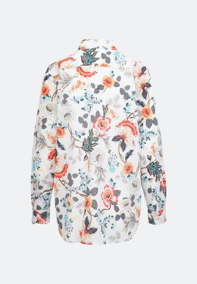 Voile Hemdbluse aus 100% Baumwolle in Weiß    Seidensticker Onlineshop
