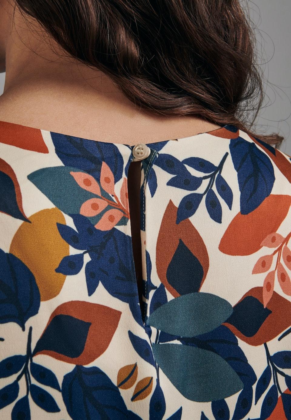 Satin Shirtbluse aus 100% Viskose in Ecru |  Seidensticker Onlineshop