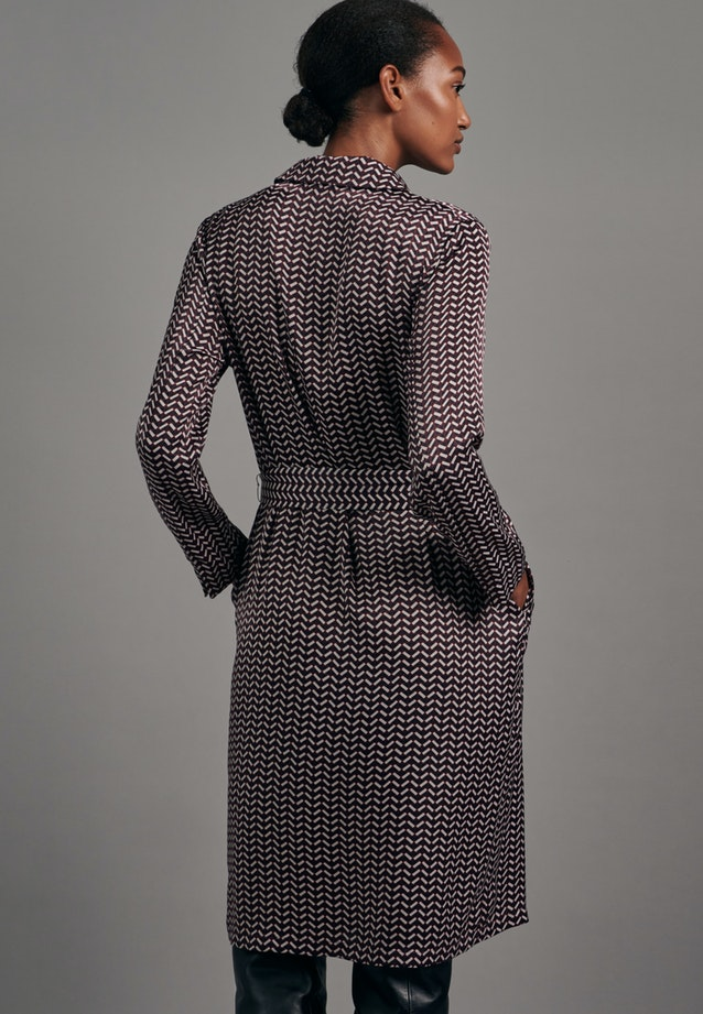 Satin Midi Dress made of 100% Polyester in Red |  Seidensticker Onlineshop
