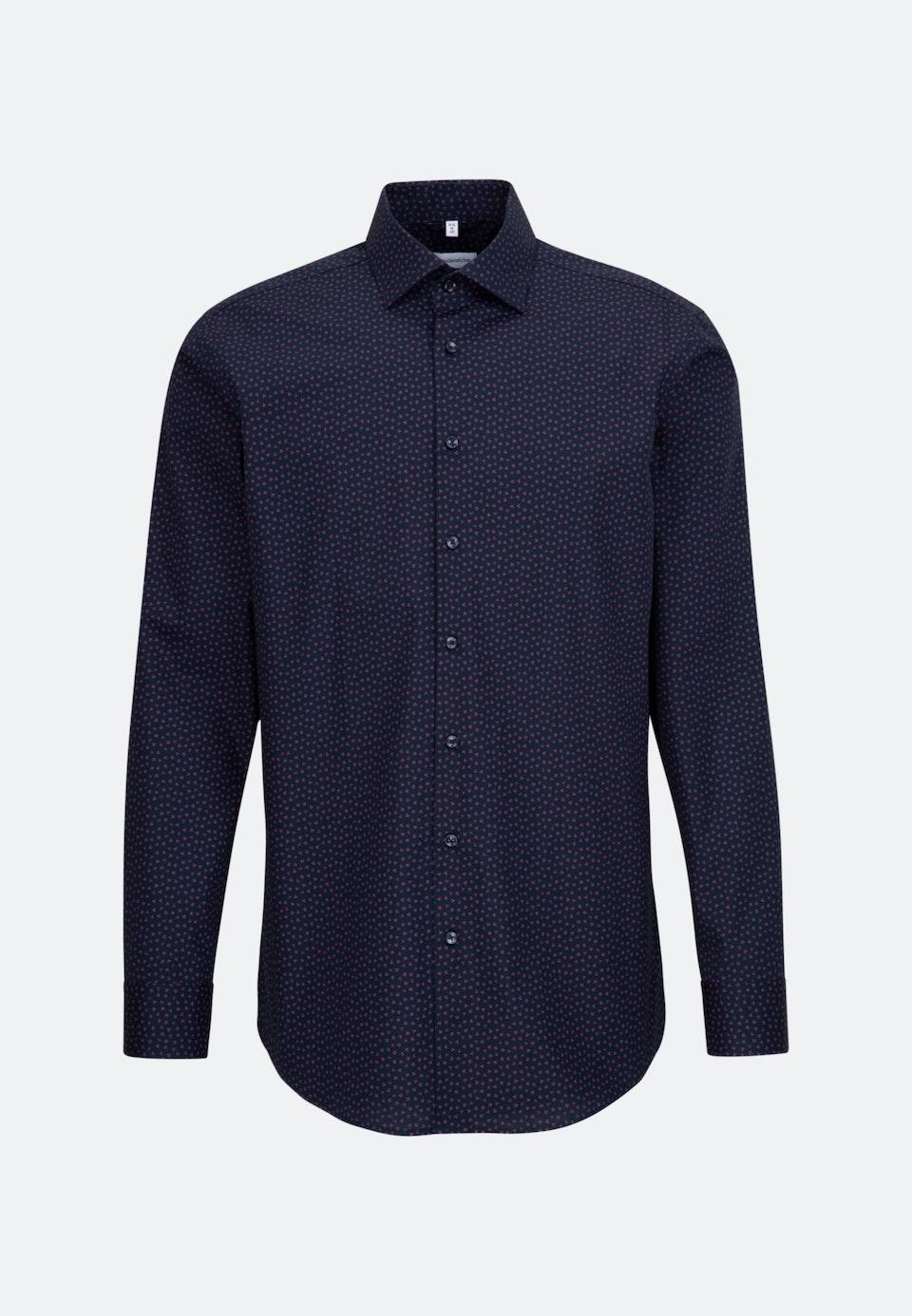 Easy-iron Popeline Business Shirt in Regular with Kent-Collar in Pink |  Seidensticker Onlineshop
