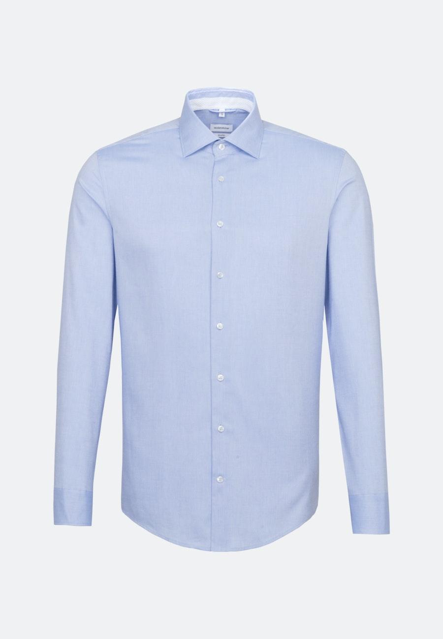 Bügelfreies Oxfordhemd in Shaped mit Kentkragen in Hellblau |  Seidensticker Onlineshop