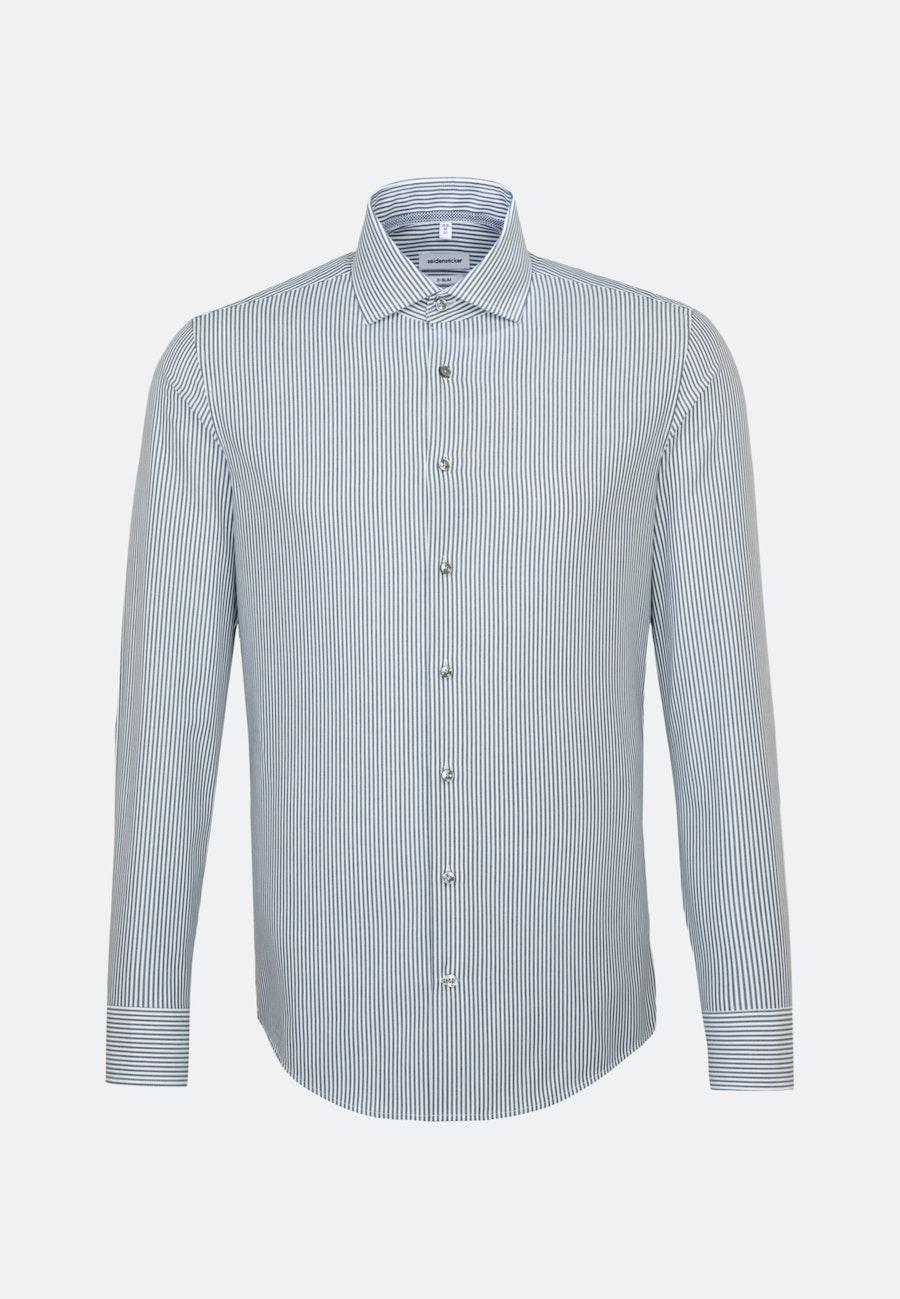 Bügelfreies Popeline Business Hemd in X-Slim mit Kentkragen in Dunkelblau    Seidensticker Onlineshop