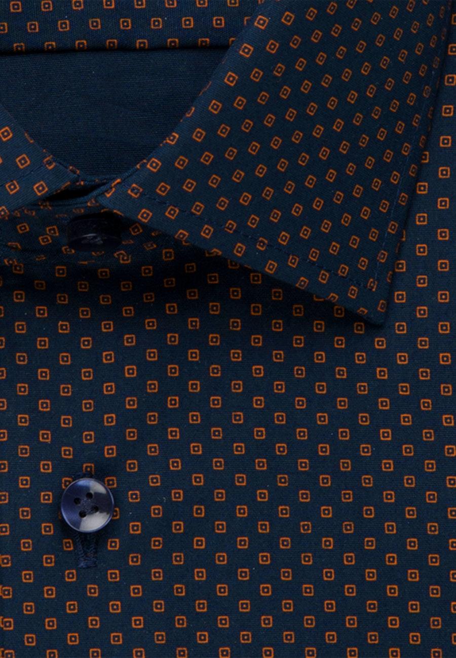 Easy-iron Popeline Business Shirt in Regular with Kent-Collar in Orange |  Seidensticker Onlineshop