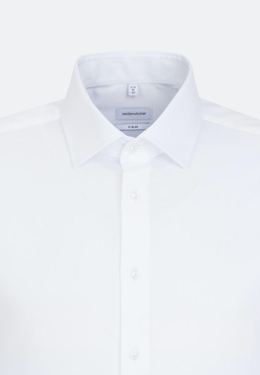 Non-iron Popeline Business Shirt in X-Slim with Kent-Collar in White |  Seidensticker Onlineshop