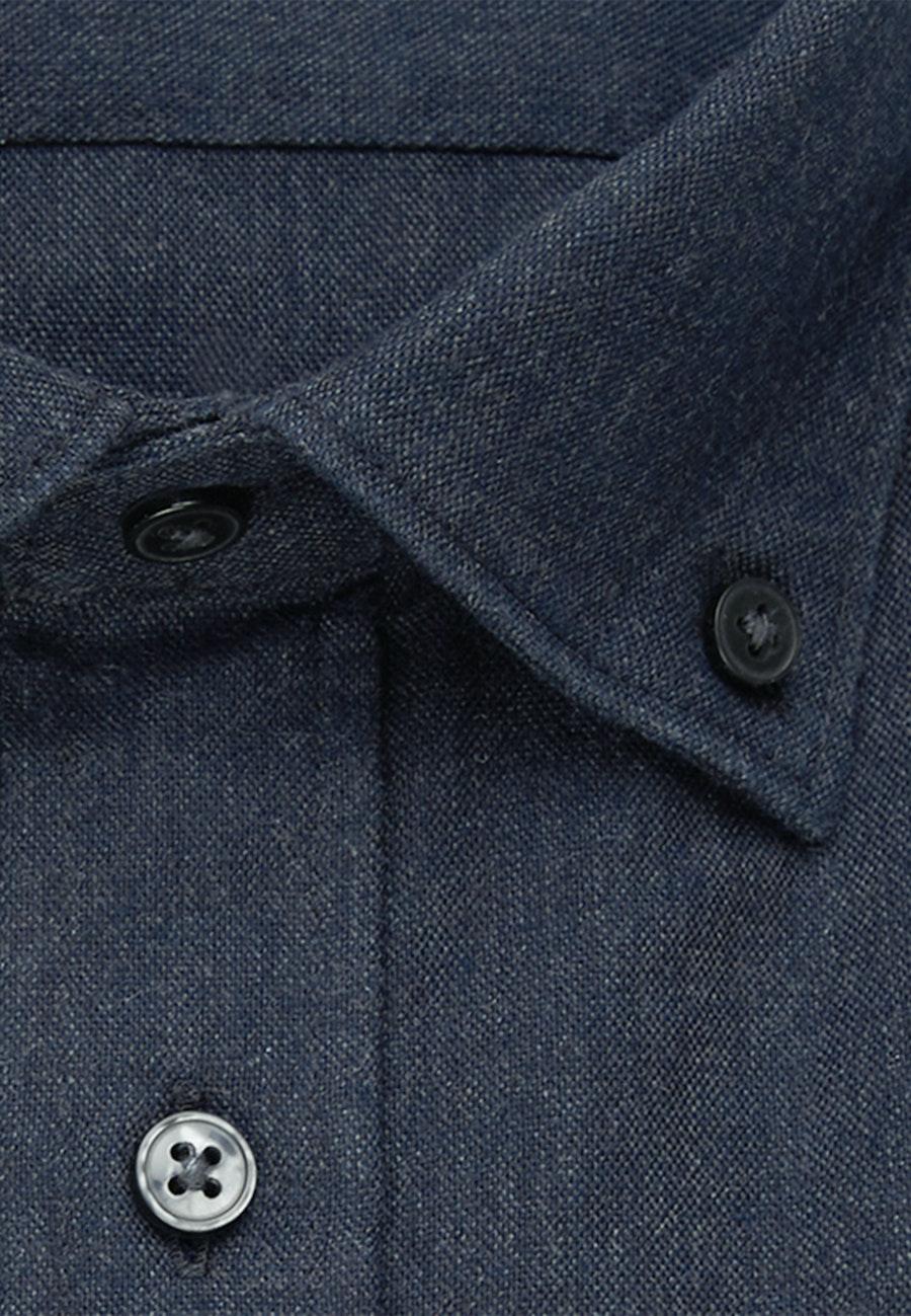 Panama Business Hemd in Regular mit Button-Down-Kragen in Grau |  Seidensticker Onlineshop