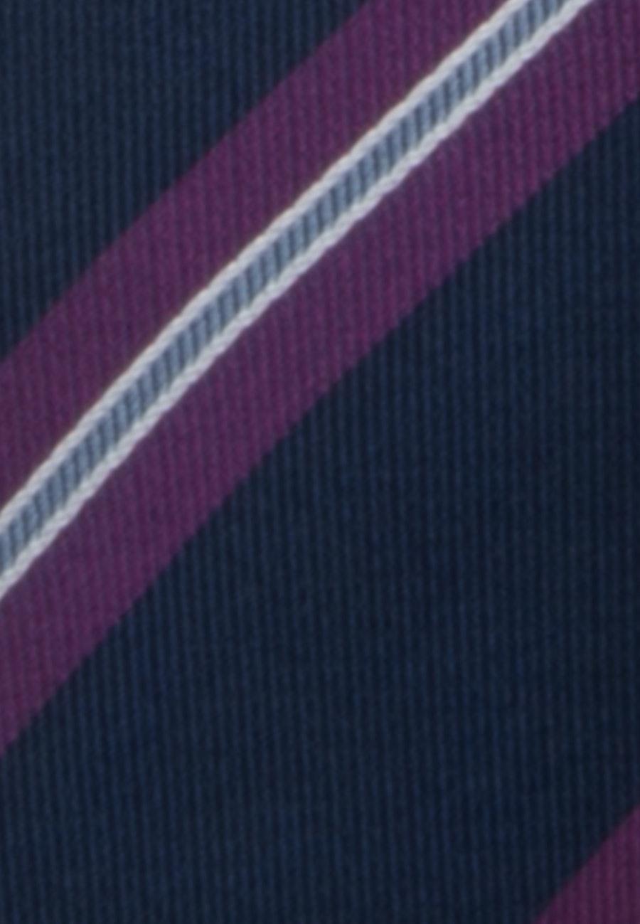 Krawatte aus 100% Seide 7 cm Breit in Rosa/Pink |  Seidensticker Onlineshop