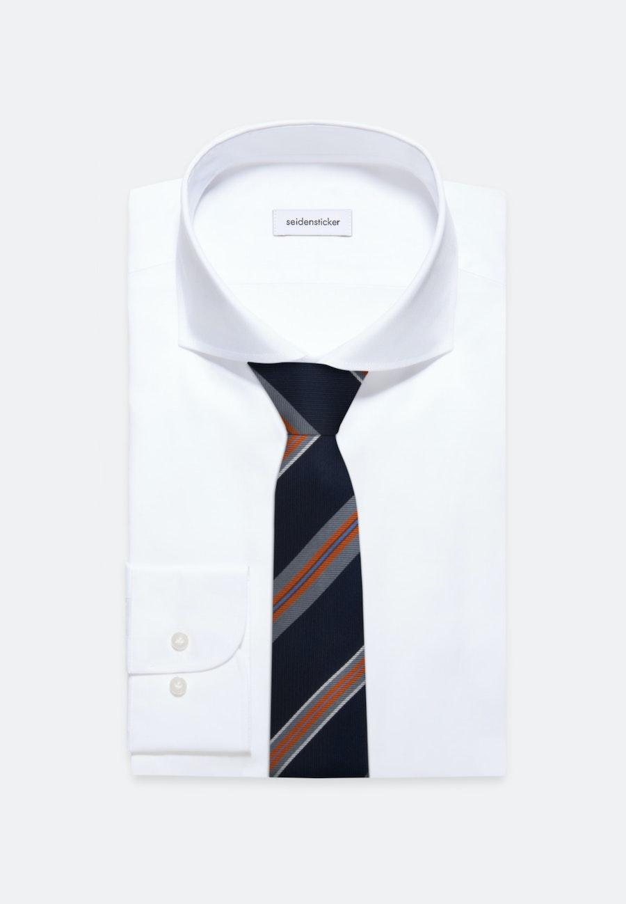 Krawatte aus 100% Seide 7 cm Breit in Orange    Seidensticker Onlineshop