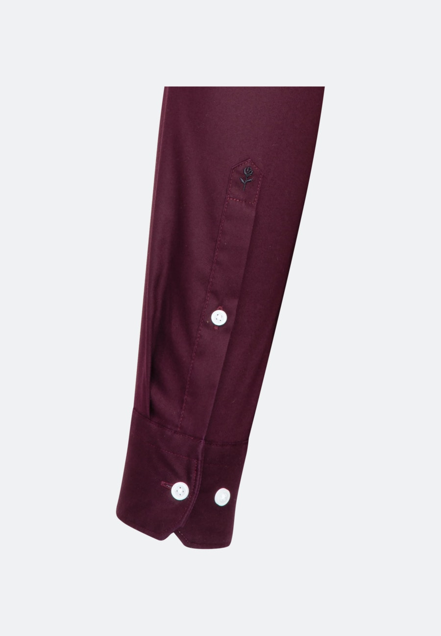 Bügelfreies Twill Business Hemd in Slim mit Kentkragen in Rot |  Seidensticker Onlineshop