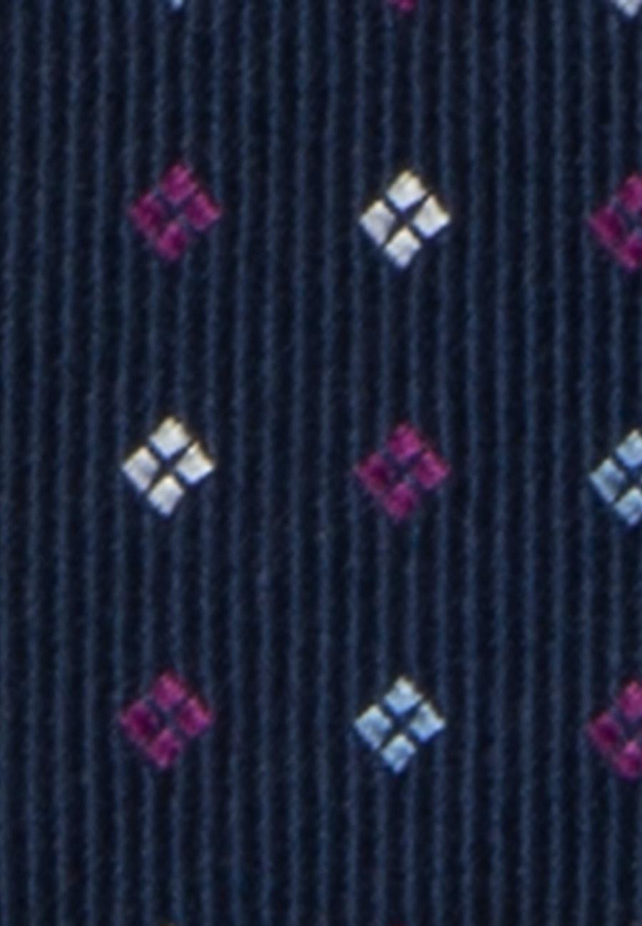 Tie made of 100% Silk 5 cm wide in Pink |  Seidensticker Onlineshop