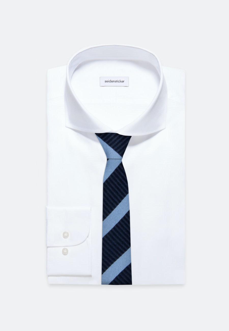 Tie made of 100% Silk 5 cm wide in Light blue |  Seidensticker Onlineshop