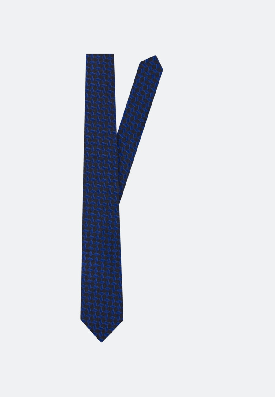 Tie made of 100% Silk 5 cm wide in Medium blue |  Seidensticker Onlineshop