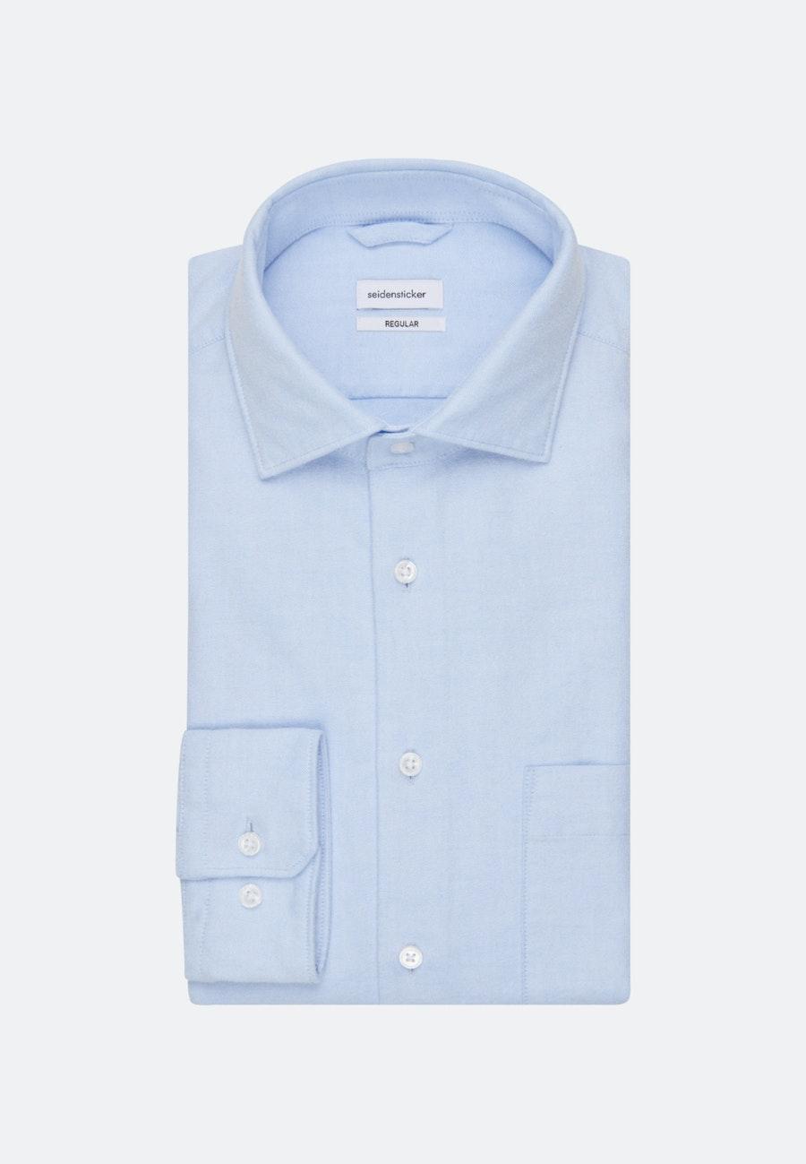 Oxford Business Hemd in Regular mit Kentkragen in Hellblau    Seidensticker Onlineshop