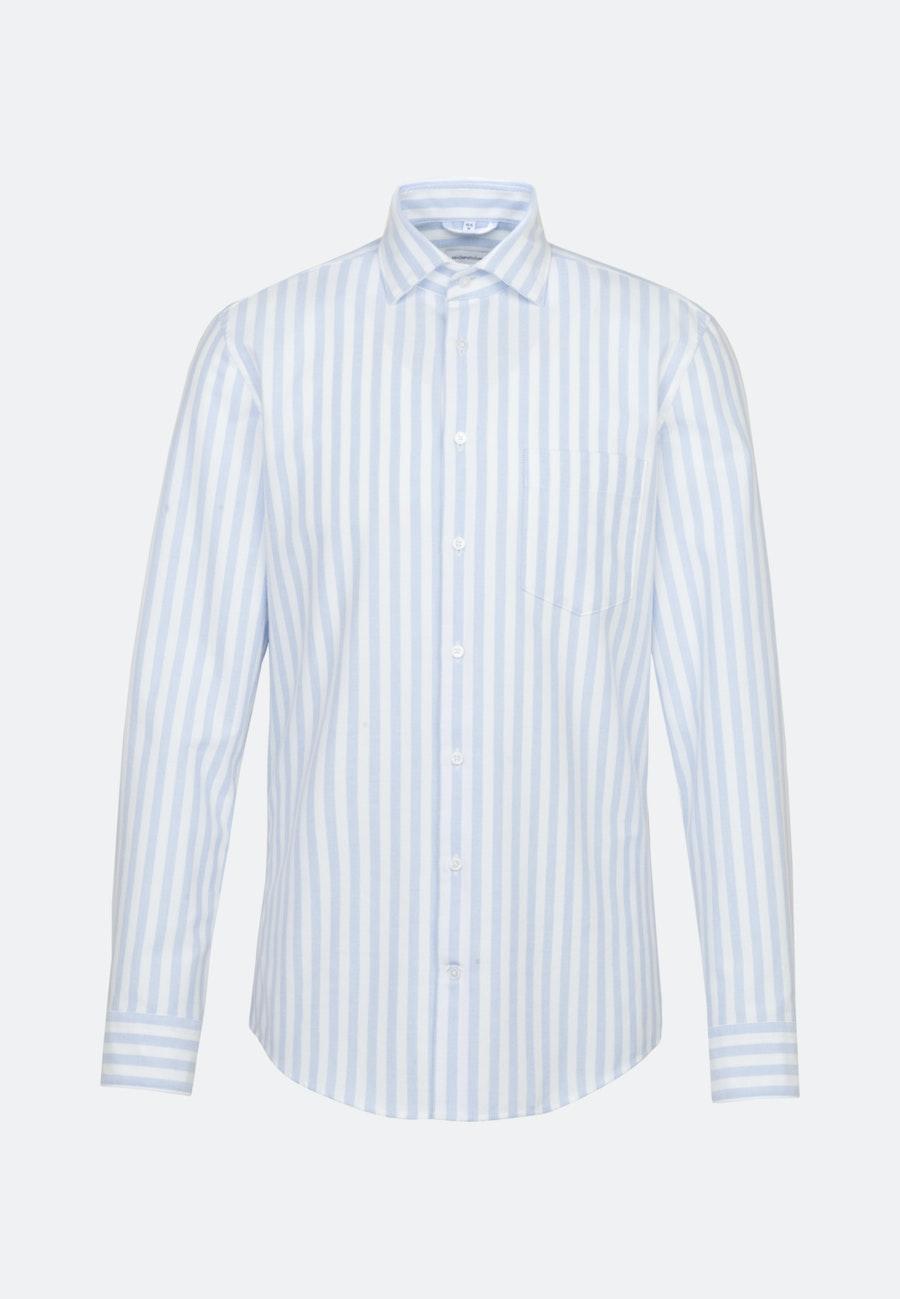 Oxford Business Hemd in Regular mit Kentkragen in Hellblau |  Seidensticker Onlineshop