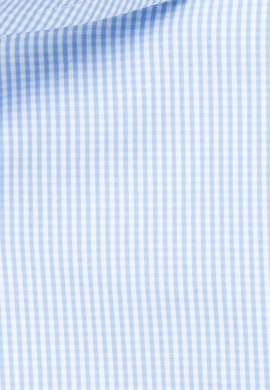 Popeline Business Hemd in X-Slim mit Haifischkragen in Hellblau    Seidensticker Onlineshop