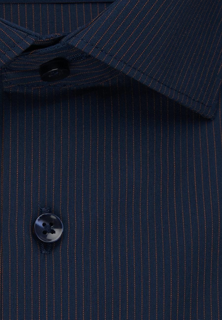Bügelfreies Popeline Business Hemd in Slim mit Kentkragen in Orange    Seidensticker Onlineshop