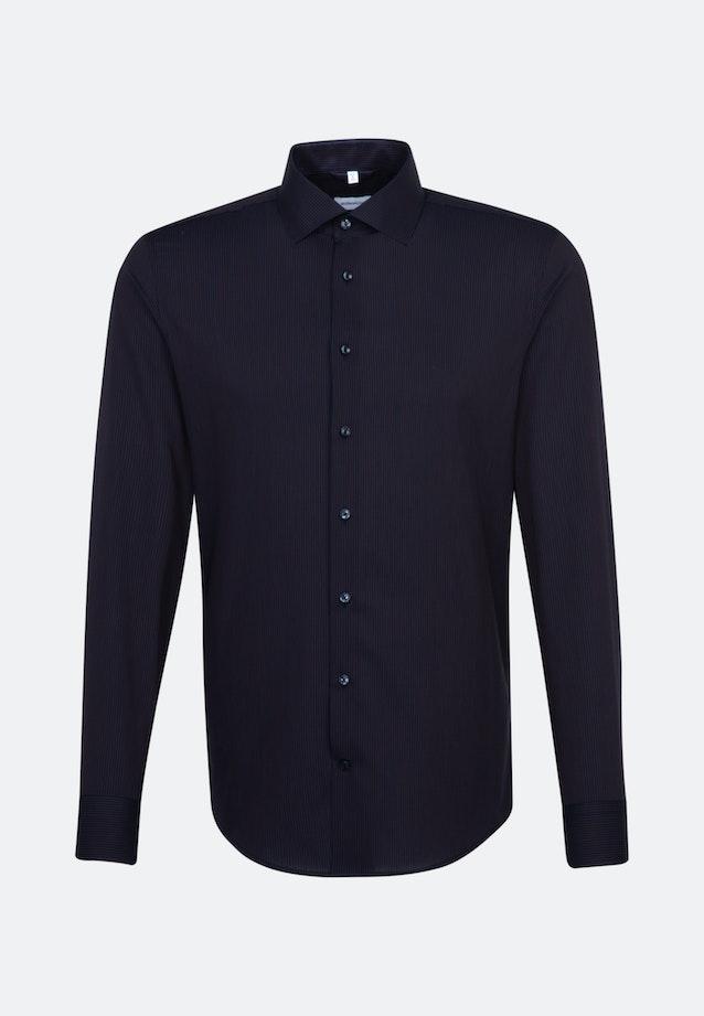 Non-iron Popeline Business Shirt in Slim with Kent-Collar in Orange |  Seidensticker Onlineshop