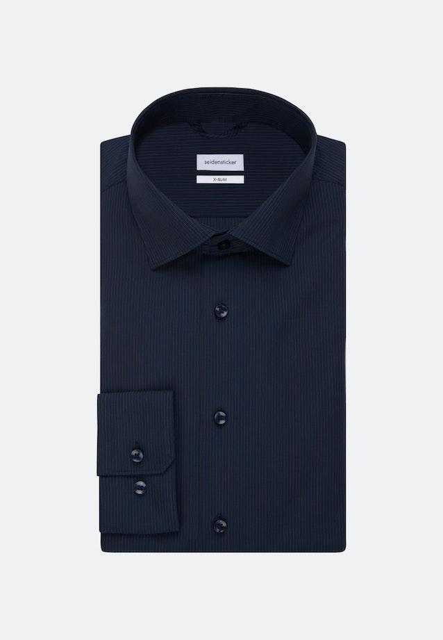 Non-iron Poplin Business Shirt in Shaped with Kent-Collar in Orange    Seidensticker Onlineshop