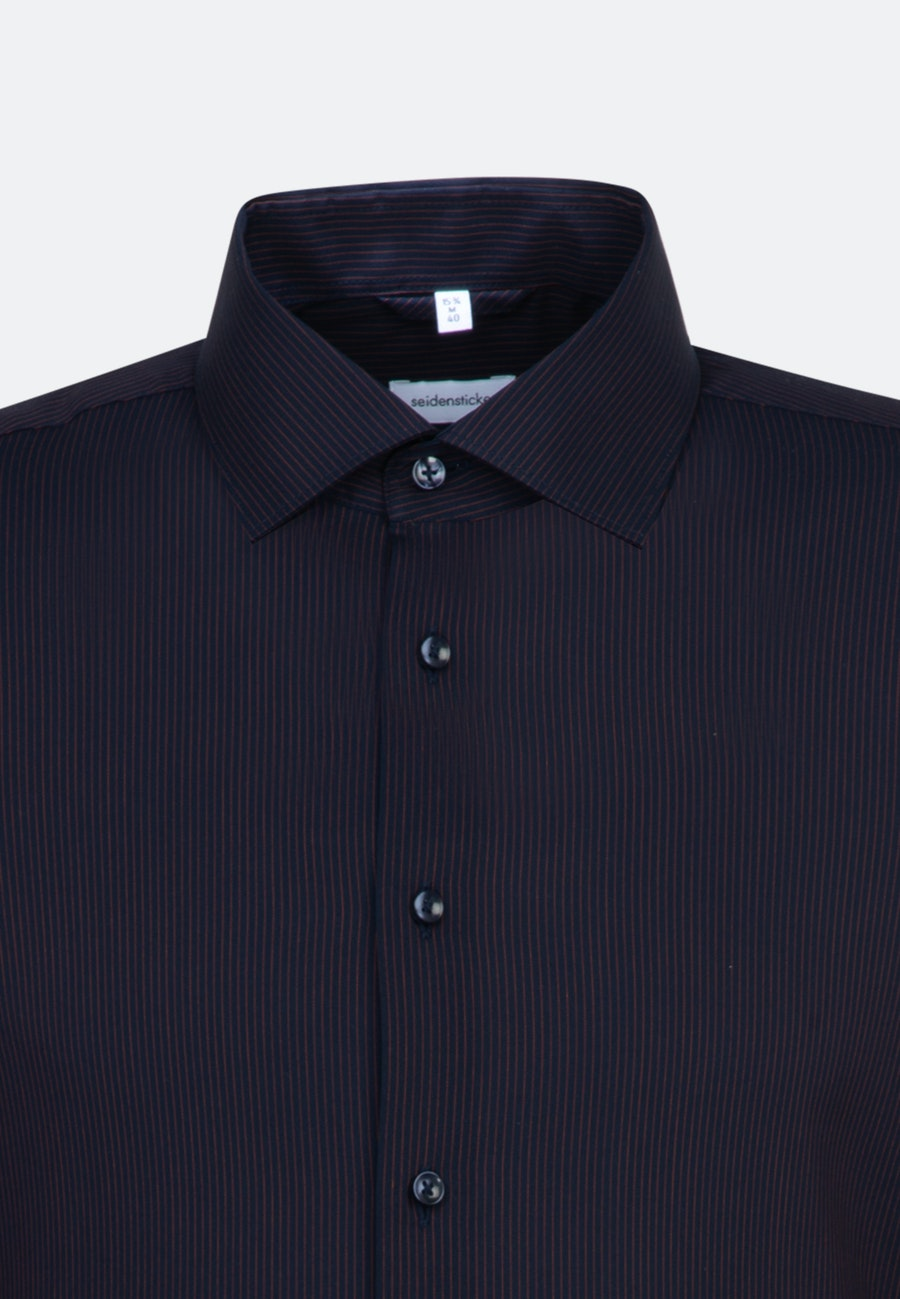 Non-iron Popeline Business Shirt in Shaped with Kent-Collar in Orange |  Seidensticker Onlineshop