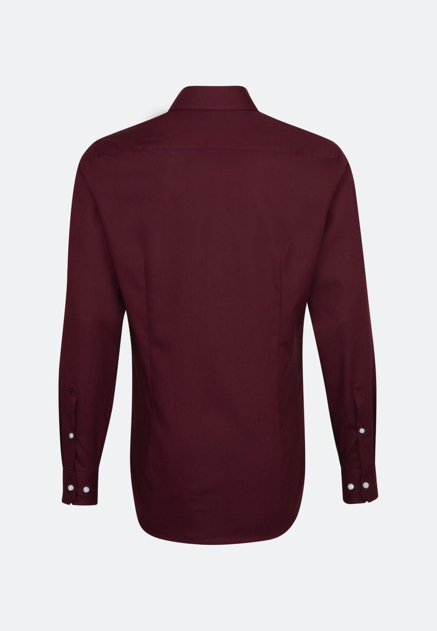 Non-iron Popeline Business Shirt in X-Slim with Kent-Collar in Red |  Seidensticker Onlineshop
