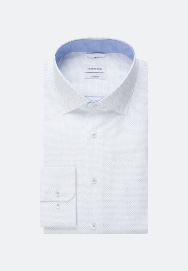 Bügelleichtes Oxford Business Hemd in Comfort mit Kentkragen in Hellblau |  Seidensticker Onlineshop
