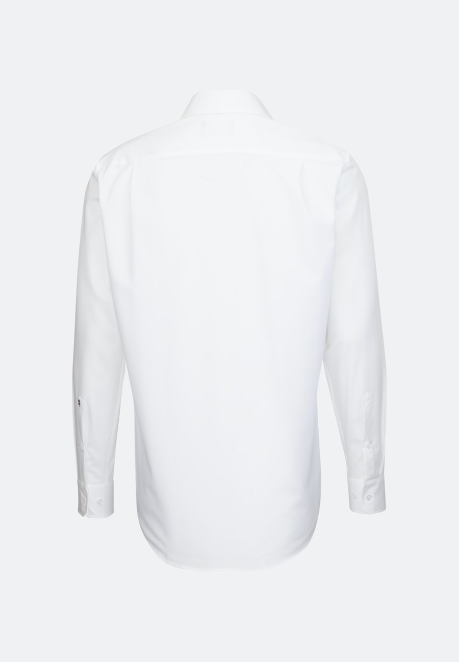 Non-iron Poplin Business Shirt in Regular with Kent-Collar in White |  Seidensticker Onlineshop