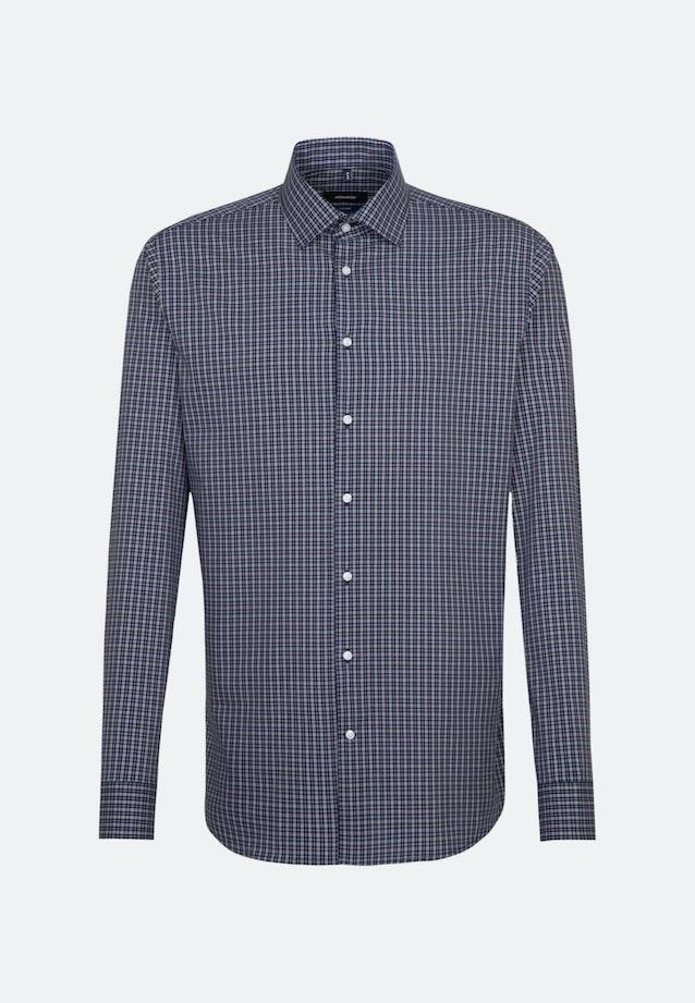 Bügelfreies Popeline Business Hemd in Shaped mit Kentkragen und extra langem Arm in Grün |  Seidensticker Onlineshop