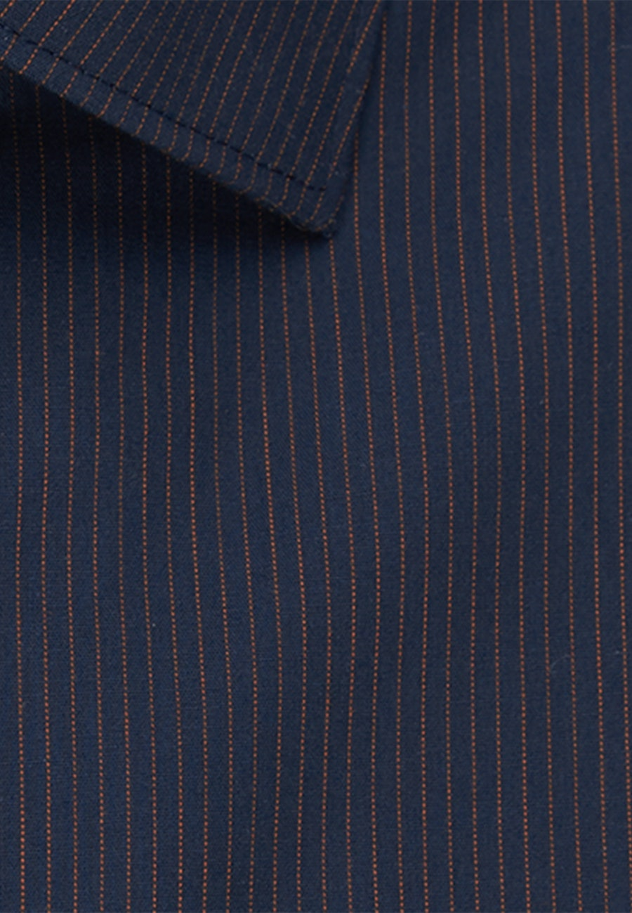Non-iron Poplin Business Shirt in Regular with Kent-Collar in Orange |  Seidensticker Onlineshop