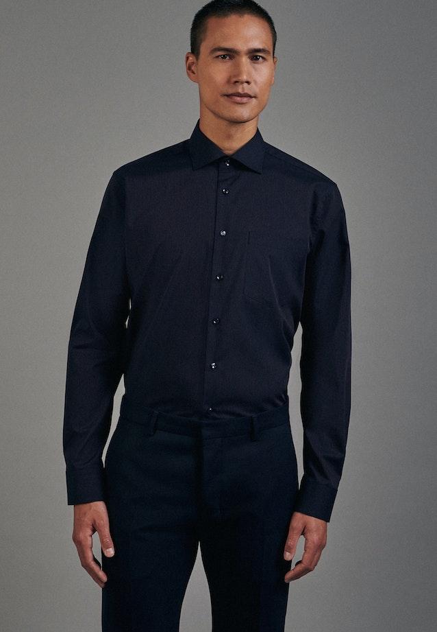 Non-iron Poplin Business Shirt in Regular with Kent-Collar in Orange |  Seidensticker Onlineshop