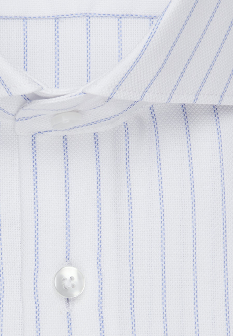 Easy-iron Struktur Business Shirt in Regular with Kent-Collar in Light blue |  Seidensticker Onlineshop