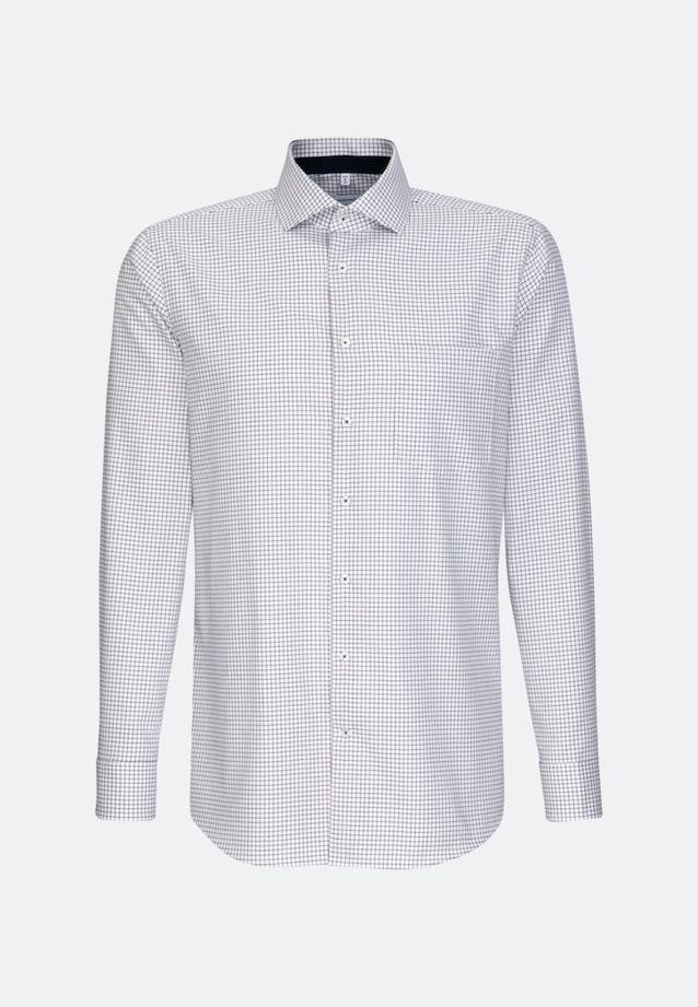 Bügelfreies Twill Business Hemd in Regular mit Kentkragen in Rot |  Seidensticker Onlineshop