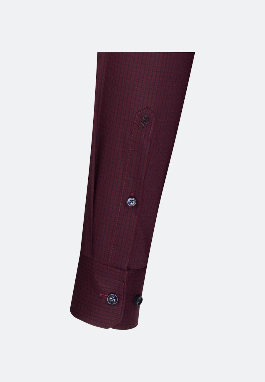 Non-iron Poplin Business Shirt in X-Slim with Button-Down-Collar in Red |  Seidensticker Onlineshop