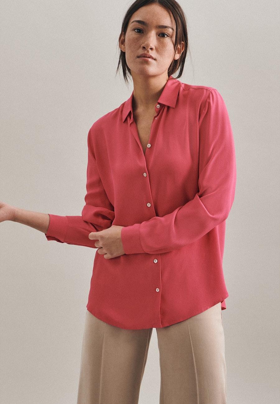 Krepp Shirt Blouse made of 100% Viscose in Pink |  Seidensticker Onlineshop
