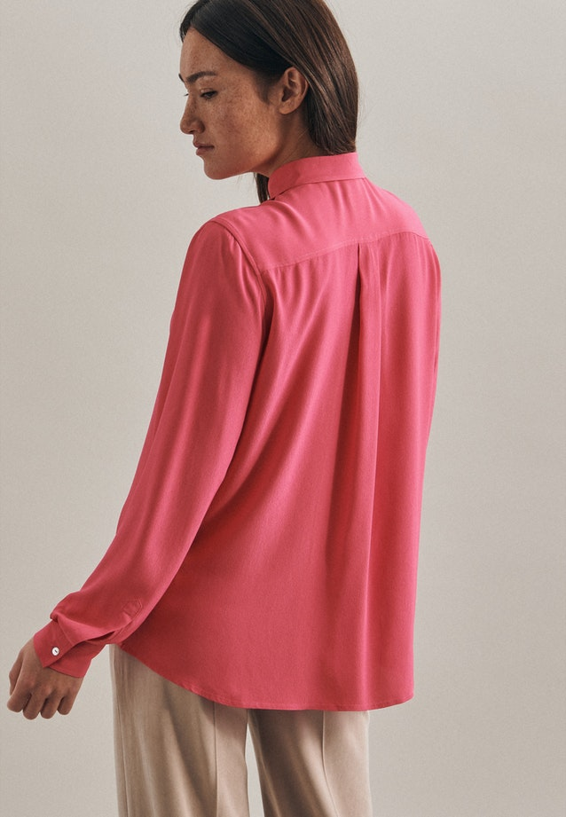 Krepp Shirt Blouse made of 100% Viscose in Pink |  Seidensticker Onlineshop