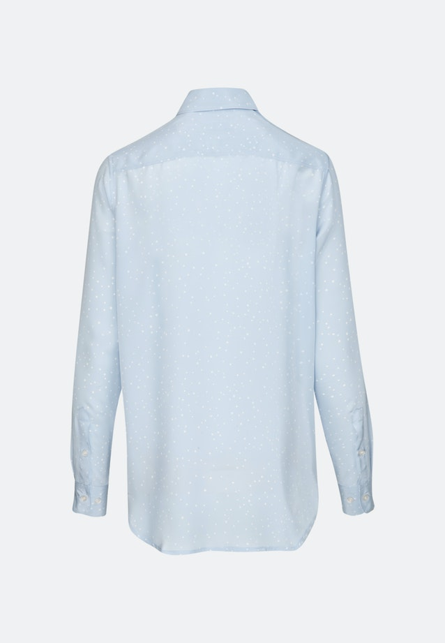 Poplin Shirt Blouse made of 100% Viscose in Light blue |  Seidensticker Onlineshop