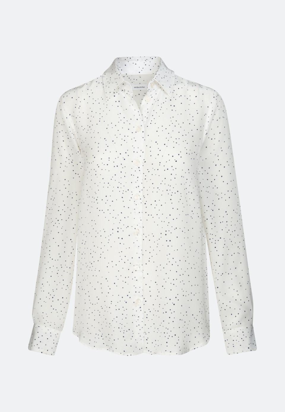Popeline Hemdbluse aus 100% Viskose in Weiß |  Seidensticker Onlineshop