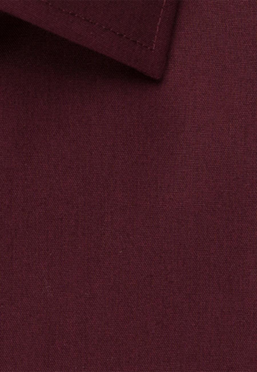 Bügelfreies Popeline Business Hemd in Regular mit Kentkragen und extra langem Arm in Rot |  Seidensticker Onlineshop