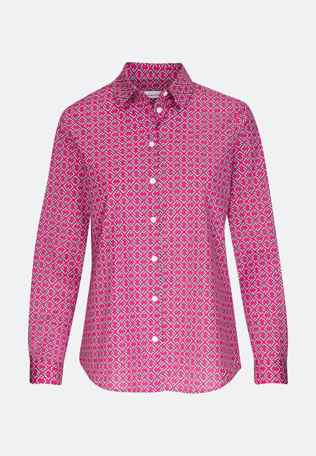 Poplin Shirt Blouse made of cotton blend in Pink |  Seidensticker Onlineshop