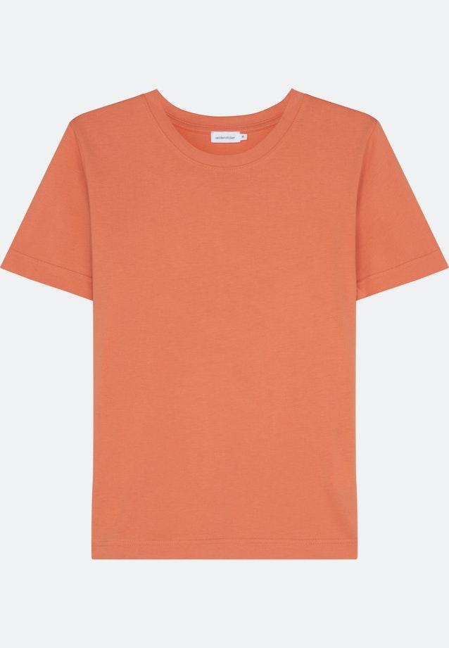 Crew Neck T-Shirt made of 100% Cotton in Pink |  Seidensticker Onlineshop