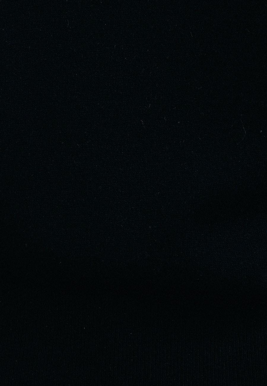 Polo Neck Pullover made of 100% Wool in Black    Seidensticker Onlineshop