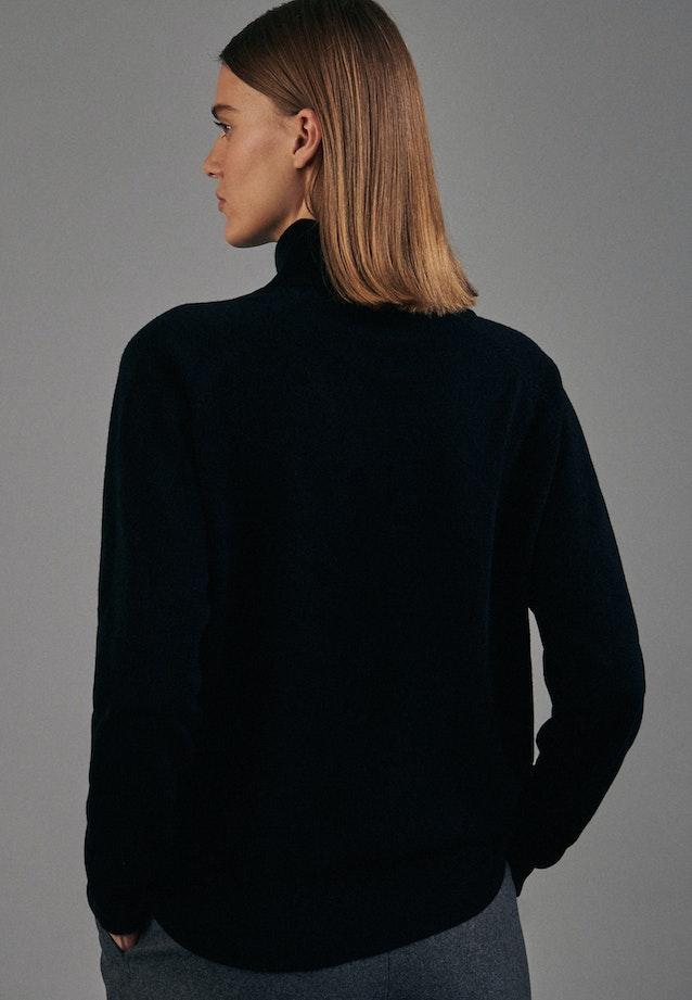 Rollkragen Pullover aus 100% Wolle in Schwarz |  Seidensticker Onlineshop