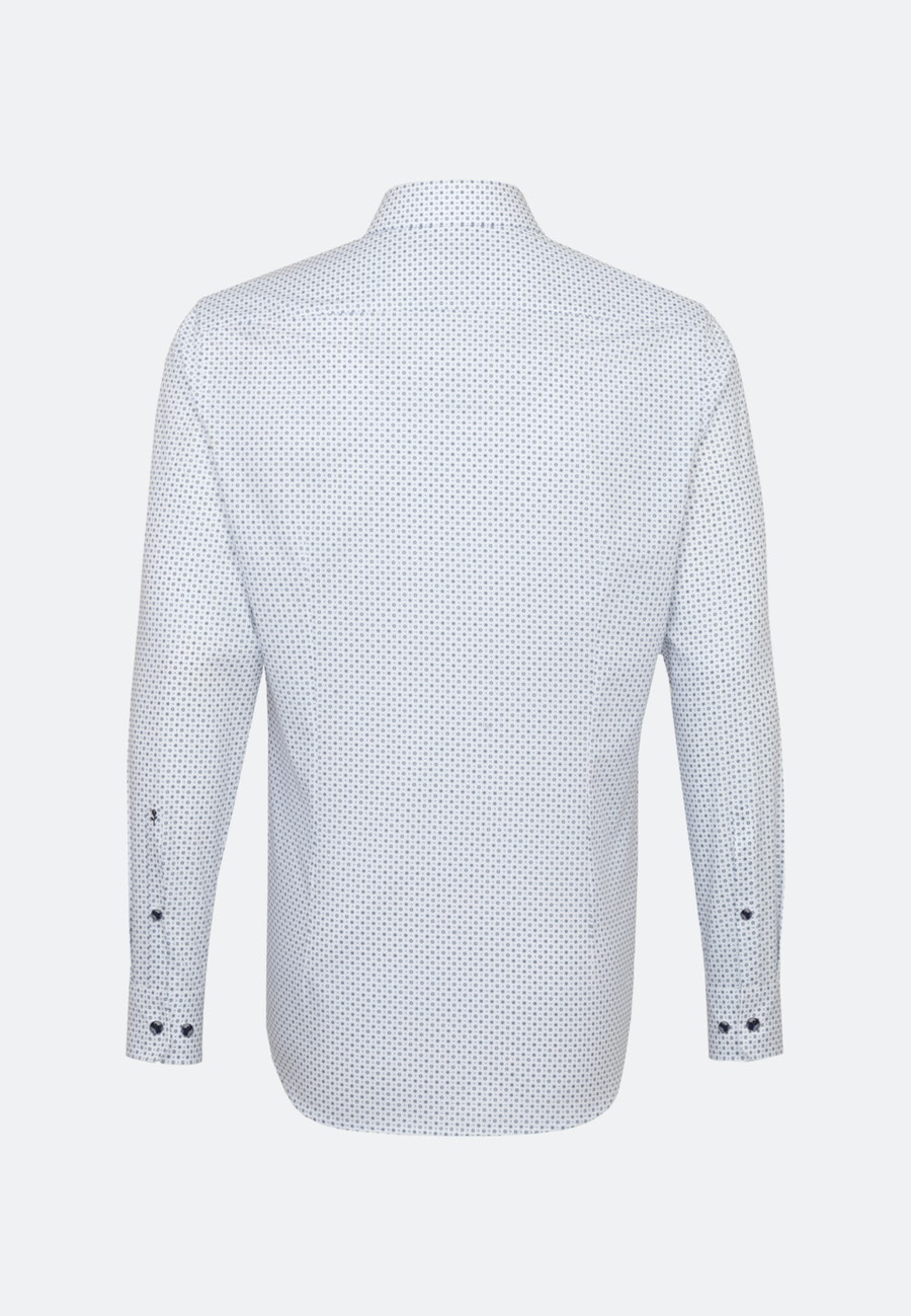 Easy-iron Poplin Business Shirt in X-Slim with Kent-Collar in Light blue |  Seidensticker Onlineshop