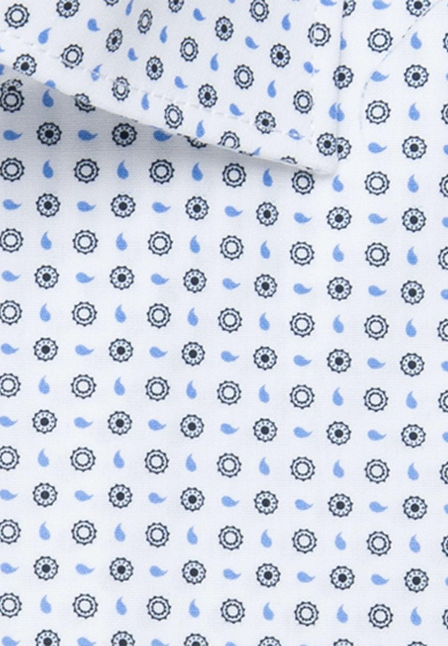 Popeline Business Hemd in Regular mit Kentkragen in Hellblau |  Seidensticker Onlineshop