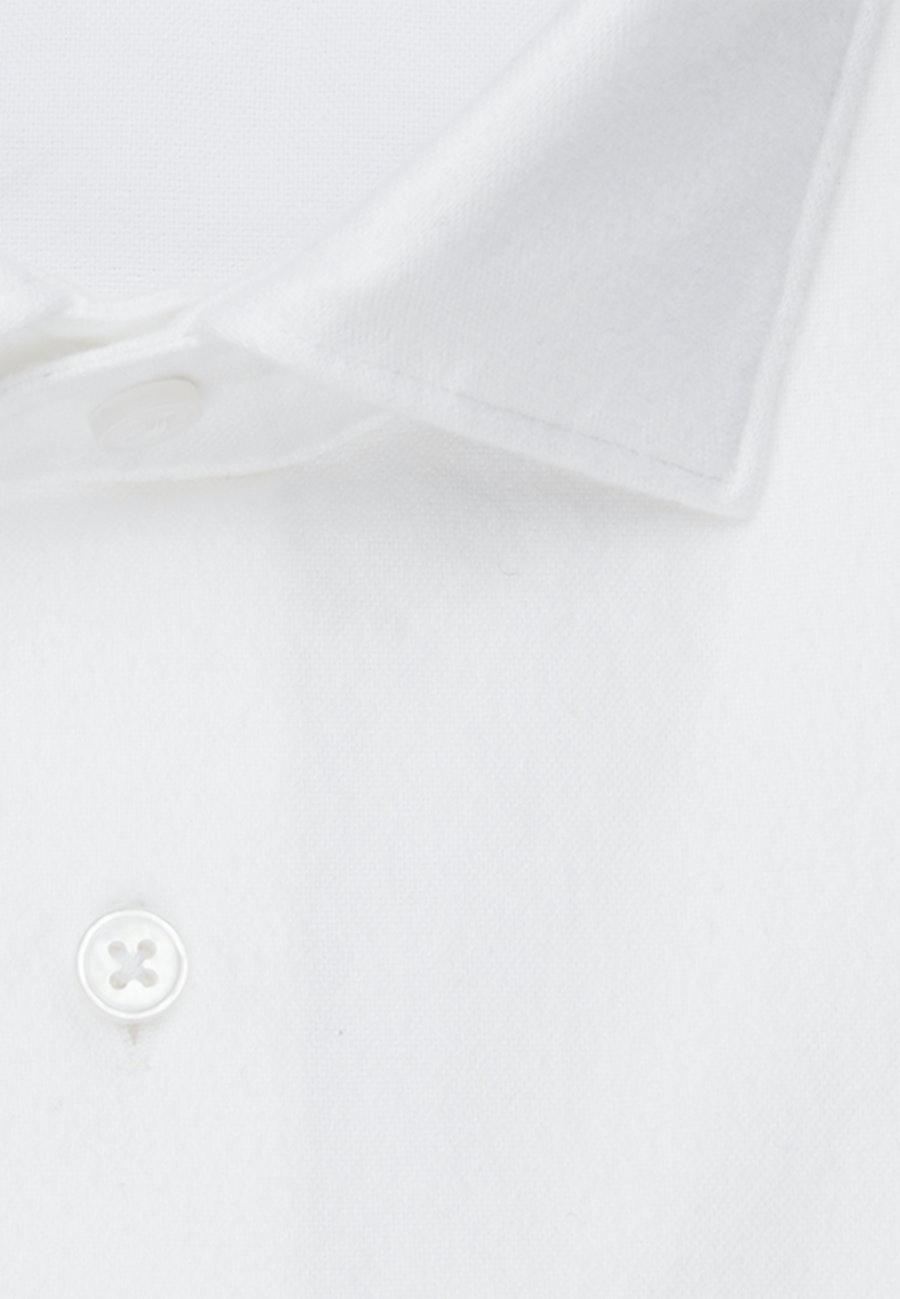 Oxford Business Hemd in Slim mit Kentkragen in Weiß |  Seidensticker Onlineshop
