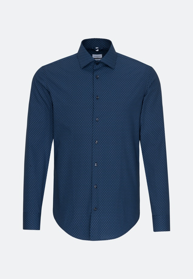 Easy-iron Popeline Business Shirt in X-Slim with Kent-Collar in Light blue |  Seidensticker Onlineshop