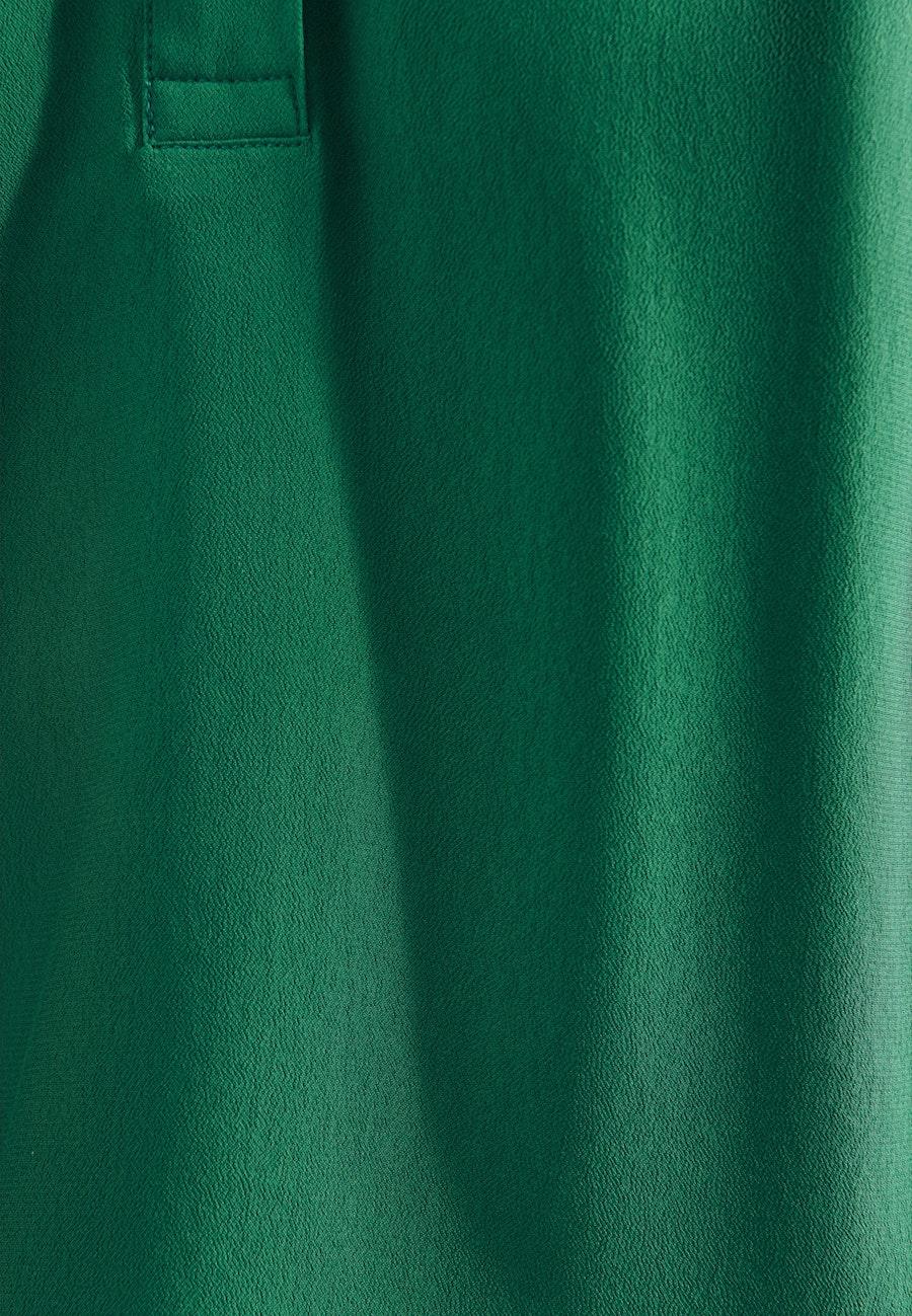 Sleeveless Crepe Slip Over Blouse made of 100% Viscose in Green |  Seidensticker Onlineshop