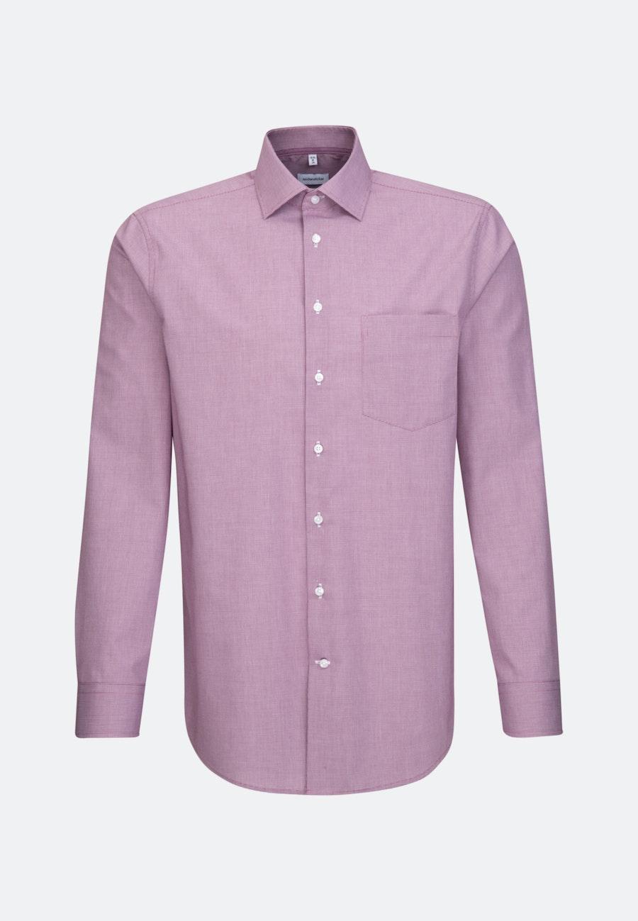 Bügelfreies Popeline Business Hemd in Regular mit Kentkragen in Rosa/Pink    Seidensticker Onlineshop
