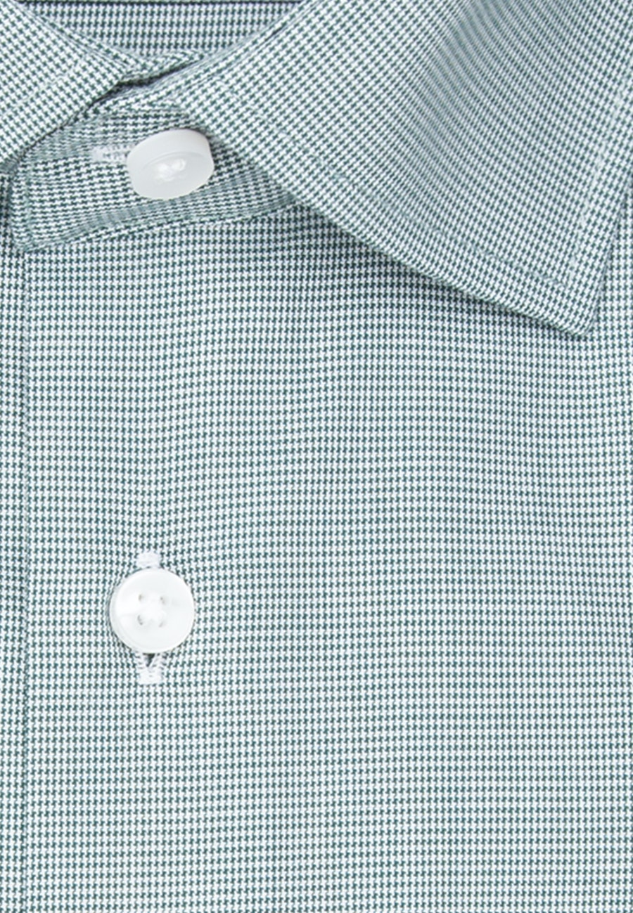 Non-iron Popeline Business Shirt in Regular with Kent-Collar in Green |  Seidensticker Onlineshop